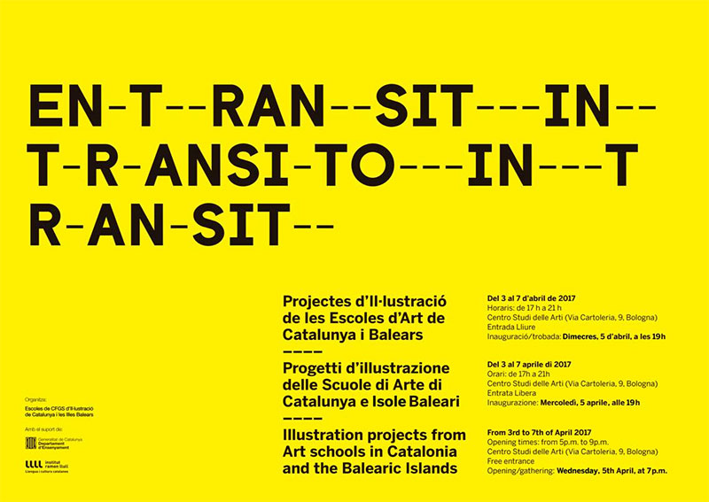 Catalonia and the balearic islands guest of honour at the bologna in transit exhibition of illustration projects from art schools in catalonia stopboris Gallery